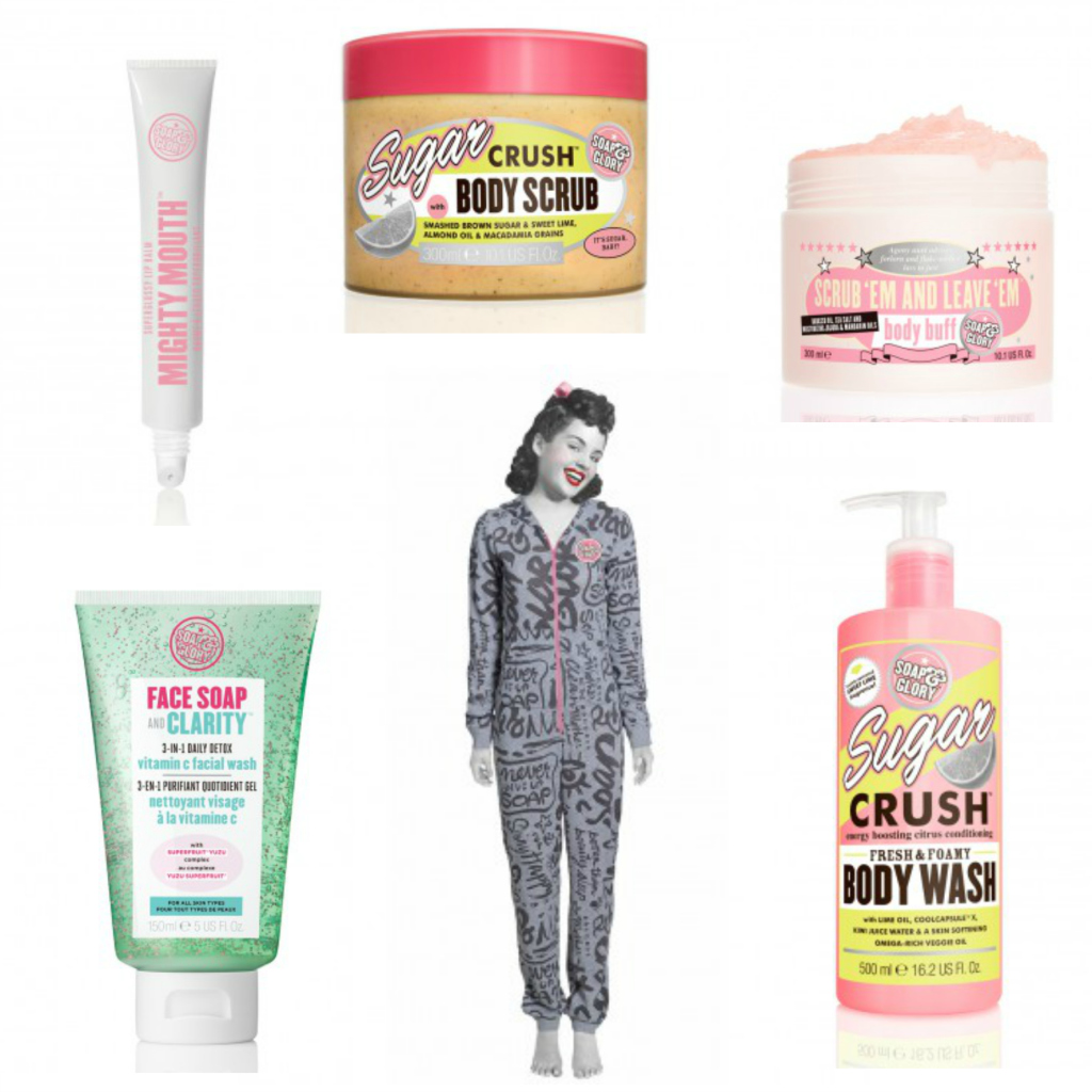 soap and glory wishlist